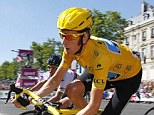 Superstar: Bradley Wiggins claims he would be a better cyclist than Lance Armstrong on a level playing field