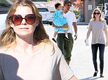 Christmas come early! Ellen Pompeo and husband Chris Ivery take delighted daughter Stella toy shopping