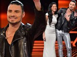 Rylan Clark is booted off the X Factor after giving his best vocal performance of the show in the sing off