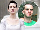'I looked like my gay brother': Anne Hathaway says she saw her sibling staring back at her in the mirror after shaving her hair off for Les Miserables