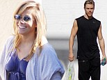 Bracing for finals! DWTS' Shawn Johnson looks confident at rehearsals... while partner Derek Hough is more concerned with lunch
