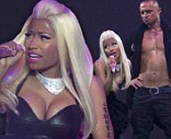 Nicki Minaj performs on her Pink Friday Reloaded Tour at Vector Arena in Auckland, New Zealand