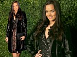 She's Strictly not sulking: Victoria Pendleton doesn't let her exit from dancing show get her down as she steps out at Theatre Awards