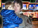 Noel Gallagher goes to winter wonderland with family