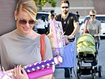 Katherine Heigl stocks up on toys and treats with husband and baby Adalaide on Black Friday