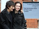Ronnie Wood engagement