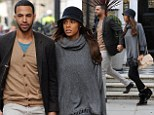 Parent-to-be Rochelle and Marvin Humes pictured for first time since announcing pregnancy