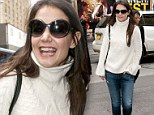 Practice makes perfect! Katie Holmes shines with confidence at rehearsal for her new Broadway play for third day in a row