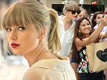 Taylor Swift mobbed by fans as she went shopping in Sydney, Australia