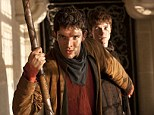 Coming to an end: The BBC have announced they will be axing Merlin (starring Colin Morgan in the title role) after five series