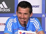 Comedy: Joey Barton gave an interview with a French accent