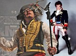 Expand and Deliver: Adam Ant squeezes a fuller frame into his highwayman costume as he takes to the stage for tour