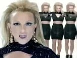 Back at her best: Britney Spears reclaims her title as Pop Princess in music video teaser for Scream & Shout