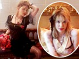Disheveled glamour: Courtney Love models pieces from her clothing line Never The Bride in new Instagram snaps
