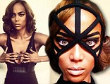 Tyra Banks in bondage-style photo shoot