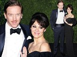 Movember? Mo' problem! Homeland star Damian Lewis debuts his moustache as he attends awards ceremony with wife Helen McCrory