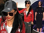 Have you two SWAPPED styles? Nicole Scherzinger dresses down in a casual tracksuit... after Tulisa opts for ladylike chic on The X Factor