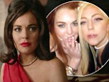 Lady Gaga tells Lindsay Lohan she was 'beautiful' in Liz & Dick... despite being out of the country when the movie aired