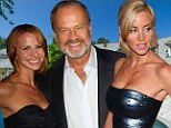 Locked horns: Camille and Kelsey Grammer are reportedly at war over a Beverly Hills home they both own