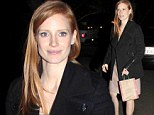 Fashion heroine! Jessica Chastain is effortlessly chic as she promotes hotly anticipated Zero Dark Thirty