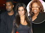The Mercy rapper - who has been dating the Keeping Up With The Kardashians star for eight months - was spotted visiting his mother Donda West's graveside in Oklahoma with his 32-year-old girlfriend on Friday.
