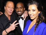 Rubbing elbows: Stewart Rahr, one of the world's richest men is perhaps best known for his mountain of photos with top celebrities, including Kim Kardashian and Kanye West