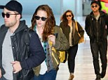 Big Apple of my eye! Robert Pattinson and Kristen Stewart continue to make up for lost time as they jet out of New York together