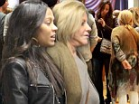 Daughter-in-law in training: Zoe Saldana has cinema trip with Bradley Cooper's mother