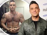 'I need to get in shape first!' Robbie Williams reveals plans for 2013 stadium tour... but admits he wants to lose weight before it starts