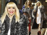 It's my party and I'll dress how I want to? Rita Ora celebrates 22nd birthday with pal Cara Delevingne in bizarre outfit