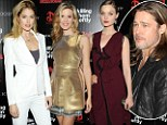 Brad Pitt relives his youth by showing off his lustrous long locks at Killing Me Softly screening... and attracts a host of gorgeous women