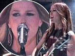 'You sang the cr** out of that song!' Rival judges agree Team Blake's Cassadee Pope is the front-runner on The Voice
