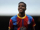 Wonderkid: Zaha has been outstanding for Crystal Palace this season