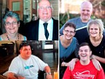 We didn't eat all the pies! Super-slimming family quits junk food and alcohol to shed a massive 25 STONE between them