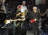 Reunion: The Rolling Stones perform for the first time in 20 years with every living member as Mick Taylor and Bill Wyman join the band in 50th Anniversary London shows
