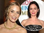 Blonde bombshell! Emily Blunt debuts new lighter hair colour as she graces the red carpet
