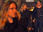 Under the cloak of darkness: Scarlett Johansson is still trying to keep new boyfriend a secret, sneaking out late at night for a romantic stroll in New York