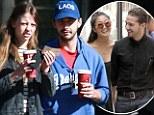 Life imitating art? Shia LaBeouf, 26, 'dating Nymphomaniac co-star Mia Goth, 19, after splitting with girlfriend Karolyn Pho
