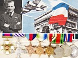 Wing Commander Ken Gatward was awarded the Distinguished Flying Cross and hailed a hero by the French government for his dare-devil antics at the height of World War II