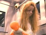 Impact: With a pale face, scraggly hair and holding a doll she is a terrifying and unexpected sight