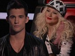 It's all over for Christina Aguilera as her last contestant Dez Duron crashes out of The Voice