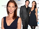 Happy together: Christy Turlington and husband Edward Burns attend a screening for his film, The Fitzgerald Family Christmas, in New York City on Tuesday