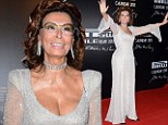 Pirelli girl Sophia Loren puts all the younger models in the shade at launch of 2013 calendar