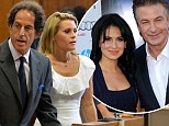 New York City police detectives arrested Genevieve Sabourin at a Manhattan courthouse on Tuesday for violating an order of protection barring her from contacting the 30 Rock actor and his wife Hilaria Thomas.