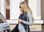 There's no mistaking that bump: Petra Ecclestone showed off her pregnancy shape as she popped out to the shops in Beverly Hills on Tuesday