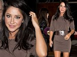 Bristol Palin looks glamorous in mini dress as she joins Dancing With The Stars colleagues at end of season party