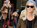 Piecing her life back together: Single mother Ashlee Simpson takes Bronx to Lego store after split from Vincent Piazza