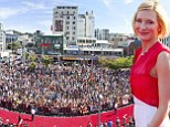 Leading lady Cate Blanchett heads the glamour as THOUSANDS of fans arrive for The Hobbit world premiere in New Zealand