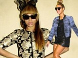 Strike a pose! Beyonce shares edgy fashion snaps on Instagram including 'pajamas' and heels combo