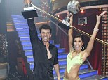 Melissa Rycroft and Tony Dovolani claim Mirror Ball trophy as they win first ever all-star season of Dancing with the Stars